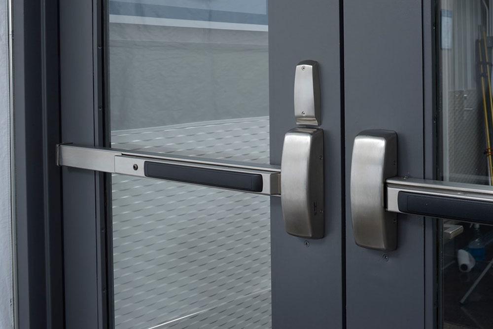 panic bar door