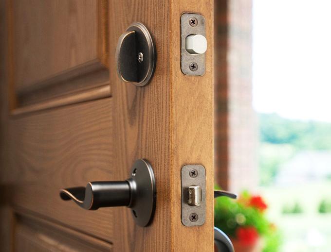 residential front door security