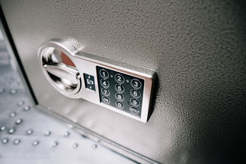 protect your valuables with a safe