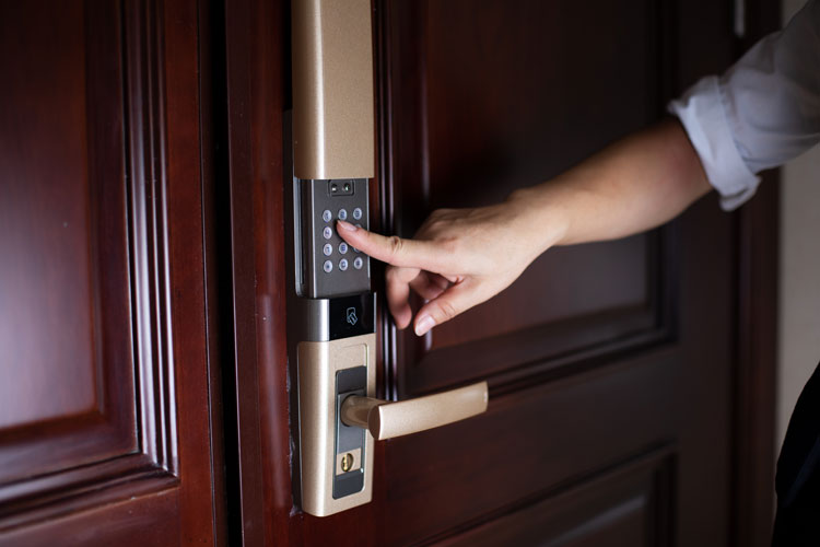 keypad door opener
